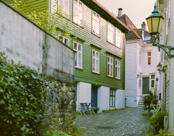 Bergen bakgård